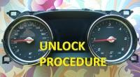 Unlock procedure MCU D70F3525 of cluster W213 2016-06.2018 years