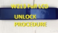 Unlock procedure for MCU D70F3525 cluster W213 FullLCD 2016-06.2018 years