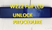 Unlock procedure MCU R7F701414 for cluster W222 FullLCD 2018-2020 years