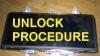 Unlock procedure for MCU D70F3525 cluster W205 FullLCD 2018-2019years